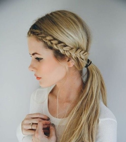 style hair for school